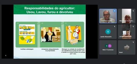 PALESTRA SOBRE USO DE AGROTÓXICOS